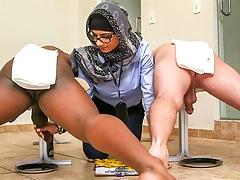 Mia Khalifa in Black vs White, My Ultimate Dick Challenge. - BangBros