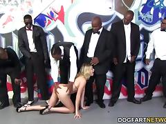 lia lor sucks 10 black cocks
