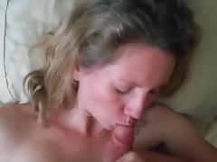 Slut wife sucks and fucks