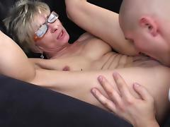 Vagina, Banging, Granny, Group, Lick, Mature
