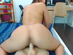 Webcam girl ride dildo and hafe FUN