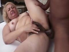 Best pornstar Vitoria Santos in fabulous blonde, anal porn clip