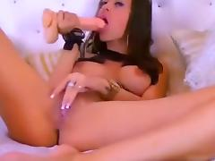 Horny Webcam video with Masturbation, Big Tits scenes