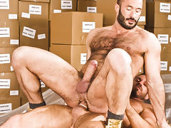 Wilfried Knight & Damien Stone in He's Got A Big Package, Scene #03