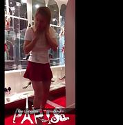 First day in Paris. Flashing and Sex