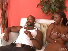 Stacy Adams is ready to take the cock deep into her chocolate pussy