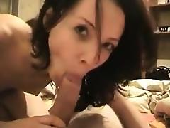 Russian Amateur, Amateur, Blowjob, Brunette, Couple, Dirty