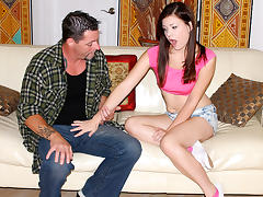 Alison Rey in Teaching His Step Daughter - TeamSkeet