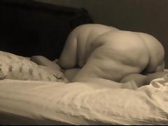 BBW riding her man's Big Black Cock good