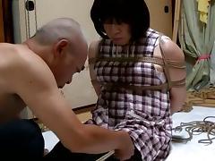 Jyosoukofujiko tied wearing apron