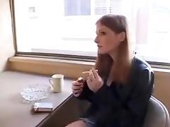 Redhead college girl  Fucks To Calm Daddy Down !