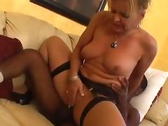 MILF Slut Loves The Hard Dark Meat