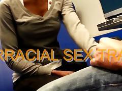 interracial sex train