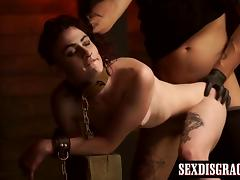 Lydia Black having rough bondage sex