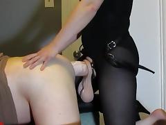Strapon Fuck Couple