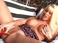 Grinding, Beauty, Blonde, Boobs, Clit, Fingering