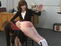 G spanked in the Classroom