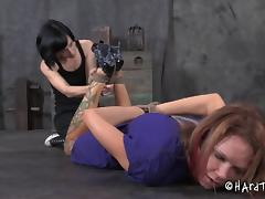 Gorgeous Rain DeGrey needs handle a pretty painful pussy torture