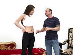 Fine-Ass Fashion Model Jenna Exploited for Her Hot Body