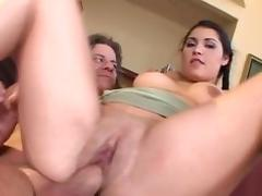 All, Big Tits, Blowjob, Cumshot, Facial, Latina