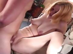 Slutty Blond Amateur Pussy Inspection