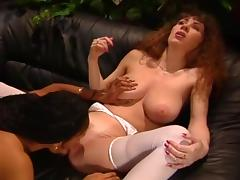 Rayveness and Crystal Knight fuck each other any way they see fit