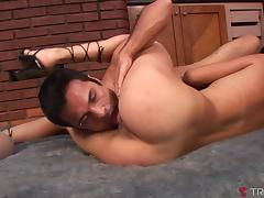 Yris Schmidt & Adriana & Fabio Costa in Tgirl Sweetie Yris Joins Horney Couple - Tranny