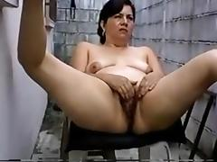 Outdoor solo Hispanic amateur Mom Lucia