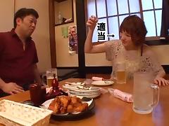 Amazing Tsubasa Amami gets her hairy snatch hammered
