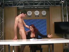 Anal sex on live cam with superb Monique Alexander