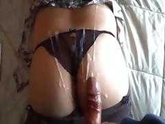 HD Cum on ass cumshot compilation