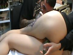 Tattooing Bulgarian Milf-Masturbation
