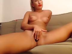 Solo, Blonde, Nipples, Solo, Toys, Webcam