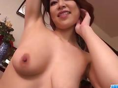Sweet POV moments of love making with Erika Nishino