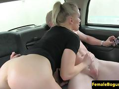 Car, Amateur, Backseat, Big Tits, Boobs, Car