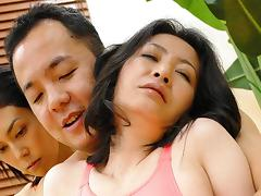 Jun Ariga & Sachiko Hatanaga in Horny Japanese women, Sachiko Hatanaga and Jun Ariga have the same lover - AviDolz