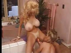 big tits long nails lesbian bathtub