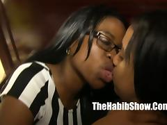 three ebony freak pussy eaters yella bone cocoa bbc