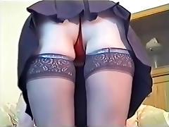 Upskirt, Masturbation, Skirt, Tease, Upskirt