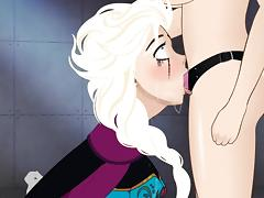Super Deep Throat modded:elsa loves Deep Throat