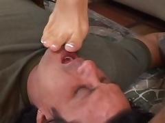All, Blowjob, Brunette, Feet, Fetish, Monster