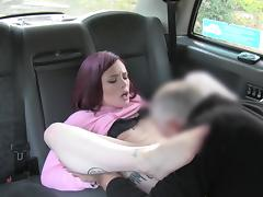FAKETAXI - RED HEAD GETS FUCKED HARD