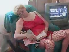 Blond Russian Granny