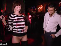 Jeny Smith goes naked at sex party