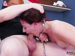 Bound, BDSM, Blonde, Blowjob, Bondage, Bound