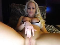 Spreading, Blonde, Legs, Spreading, Toys, Webcam