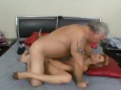Big old man fucking deliciously