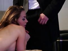 Big tits pornstar having her anal gangbanged hardcore