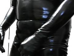 having fun in rubber