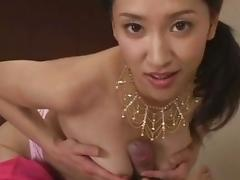 Incredible pornstar Yumi Shindo in crazy blowjob, small tits sex movie
